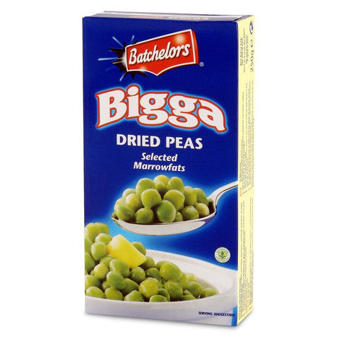Batchelors Bigga Dried Marrowfat Peas 250g - The British Pedlar