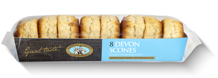 Haywood and Padgett Devon Scones