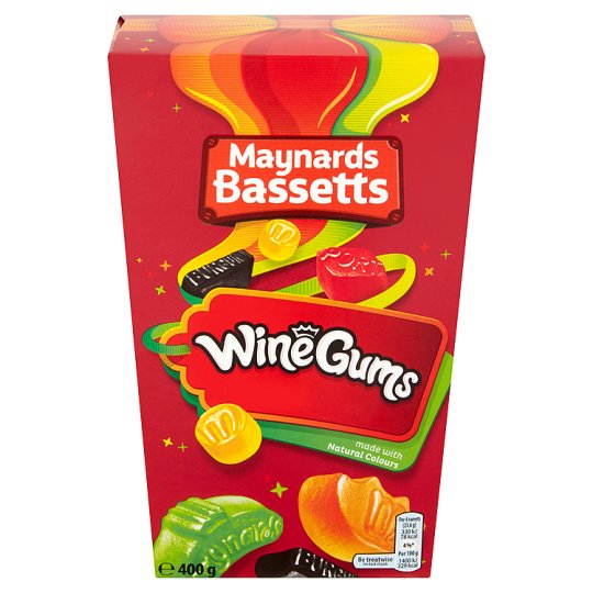 Maynards Wine Gums carton 400g