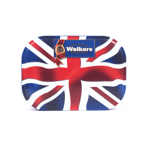 Walkers Union Jack Shortbread Tin 120g