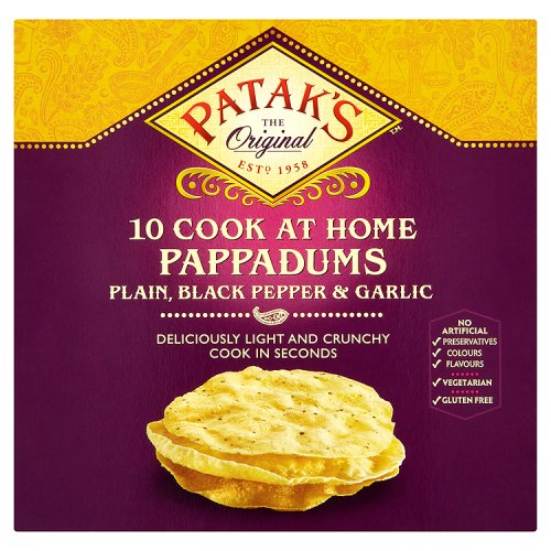 Patak's Assorted Pappadums