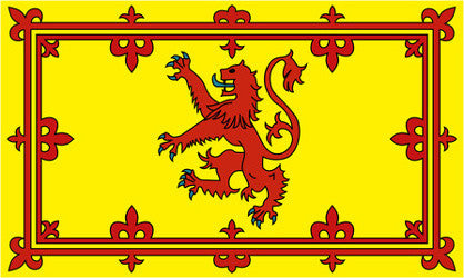 British Pedlar Flag - Scotland Royal Rampant Lion 3' x 5'