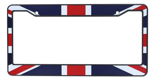 UK Flag License Plate Frame