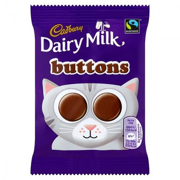 Cadbury Milk Chocolate Buttons