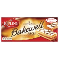 Mr Kipling Bakewell Slices