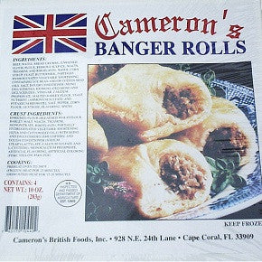 Cameron's Banger Rolls box of 4