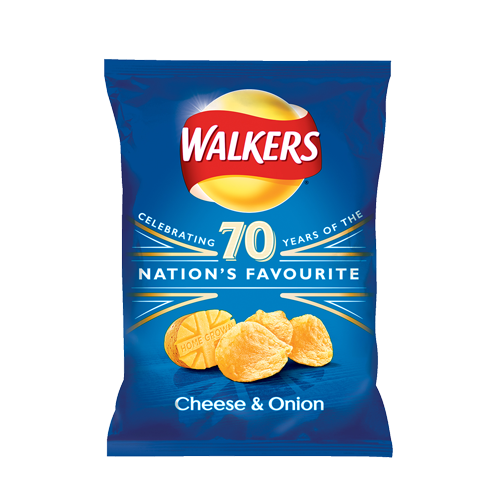 Walkers Crisps Cheese and Onion 32.5g