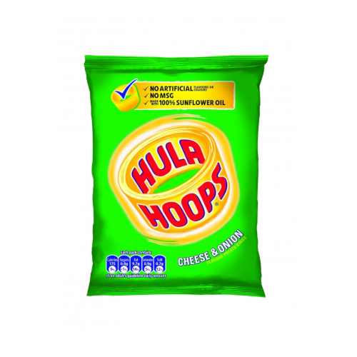 KP Hula Hoops Cheese & Onion