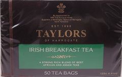 Taylors - Irish Breakfast Tea 50 Tea bags