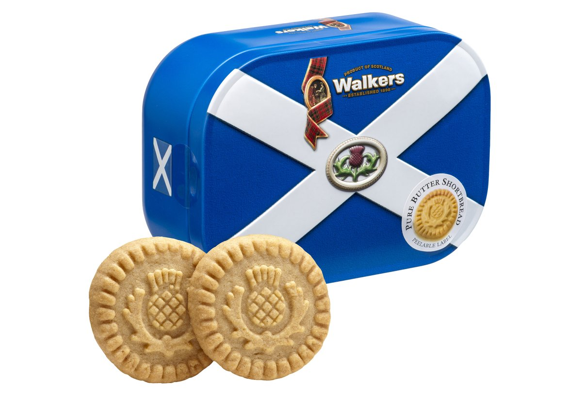 Walkers Saltire Tin