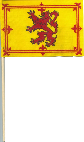 "Scotland Rampant Lion Flag 4""x6"""