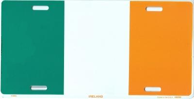 Ireland Flag License Plate