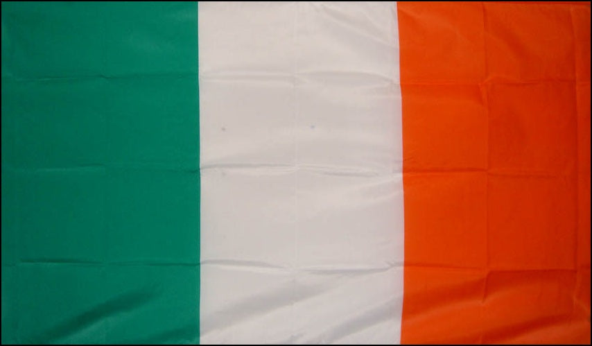 Irish Tricolour Flag 5ft x 3ft