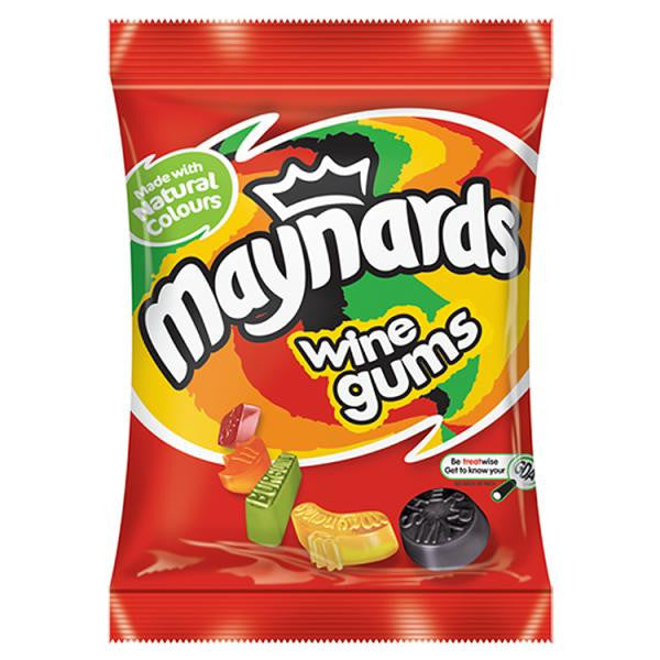 Maynards Wine Gums bag 190g