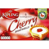 Mr. Kipling Cherry Bakewells 6pk