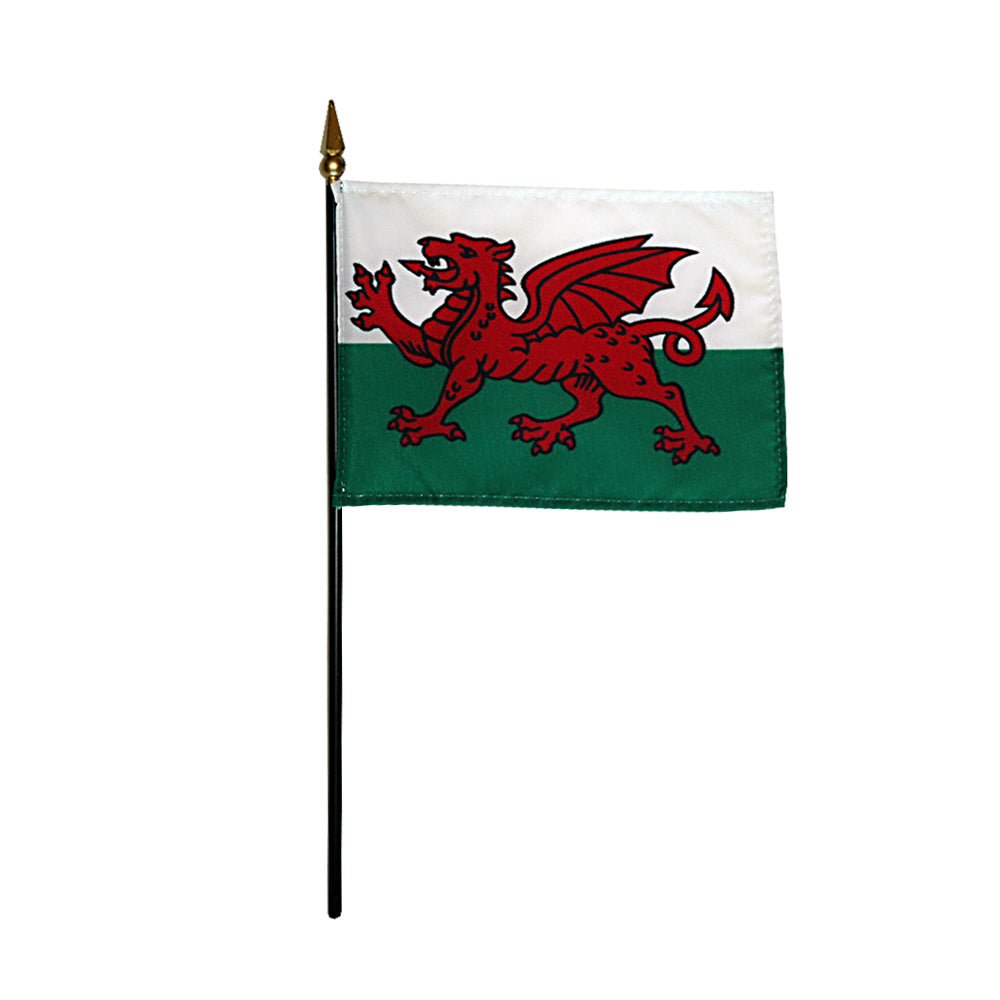 "Welsh Flag 4"" x 6"""