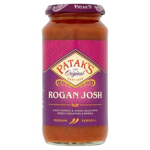 Patak's Rogan Josh Curry Sauce
