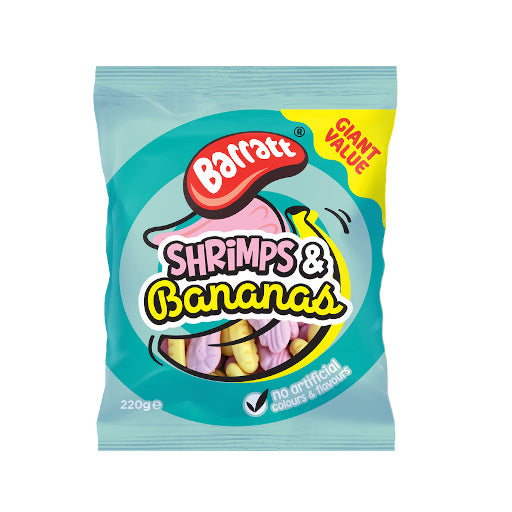 Barratt Shrimps & Bananas 220g - The British Pedlar