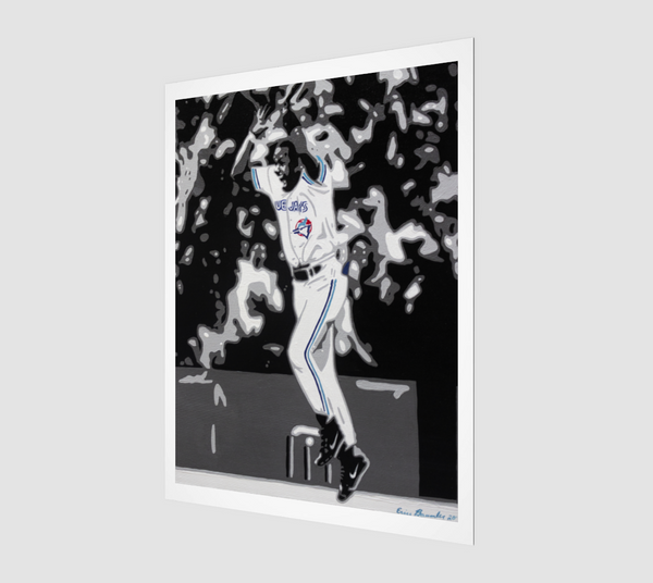 """Joe Carter"" - Art Print"