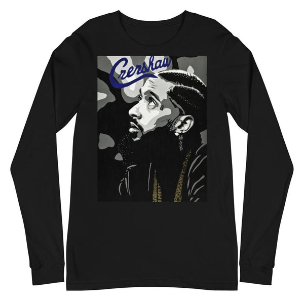 """Crenshaw""  - Unisex Long Sleeve"