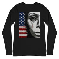 """#SayTheirNames Woman"" - Unisex Long Sleeve"