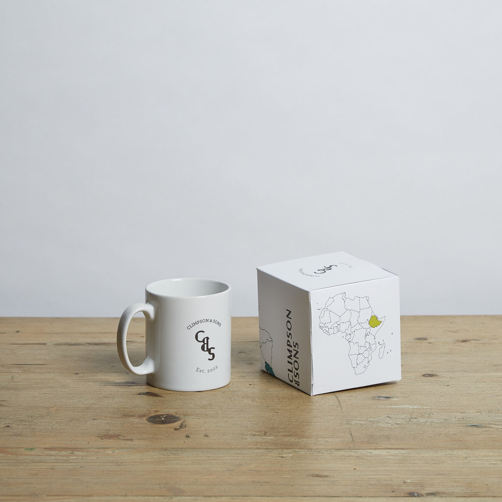 Climpson's Logo Coffee Mug