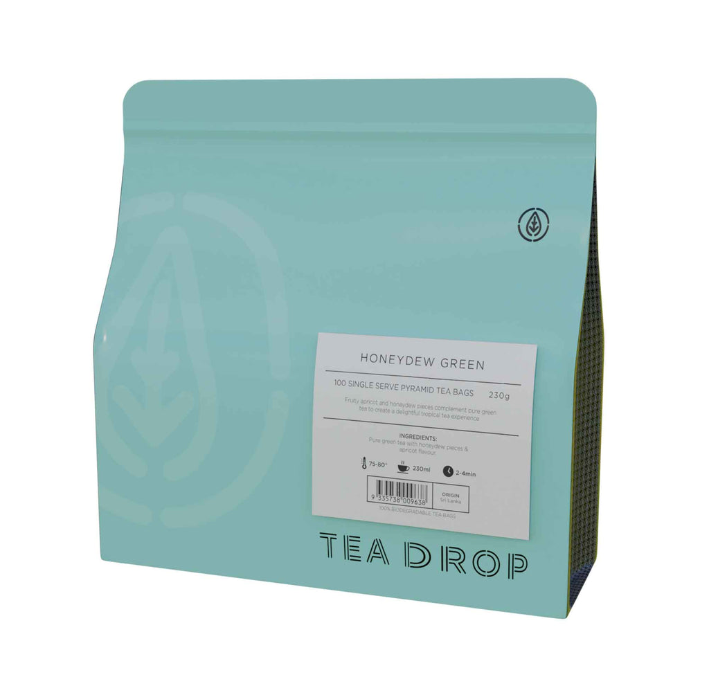 Teadrop Tea: Honeydew Green