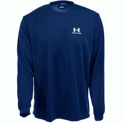 Under Armour Youth Navy Blue Long Sleeve Shirt