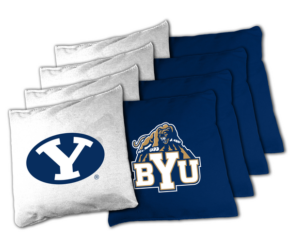 NCAA BYU Cougars XL Bean Bag Set College BYU