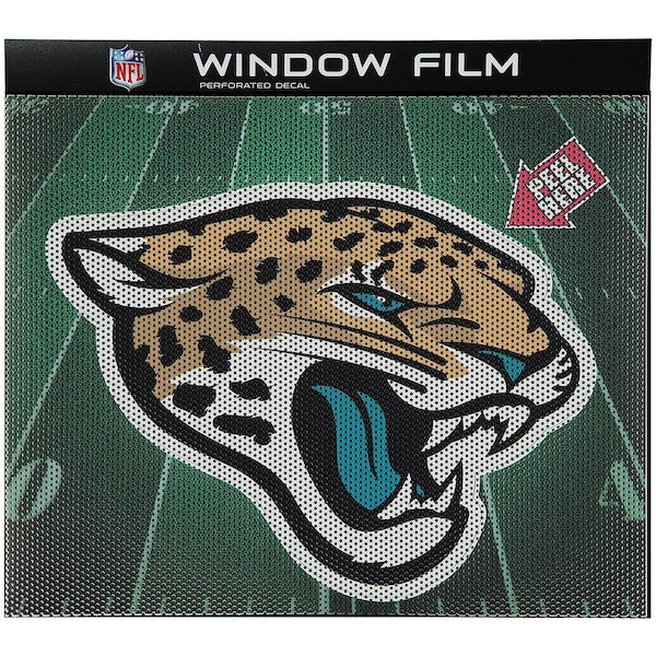 NFL Jacksonville Jaguars Large Window Film