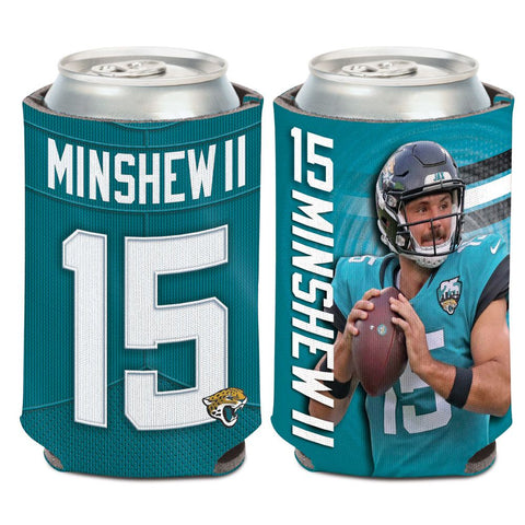 NFL Jacksonville Jaguars Photo 12 oz. Can Cooler Gardner Minshew