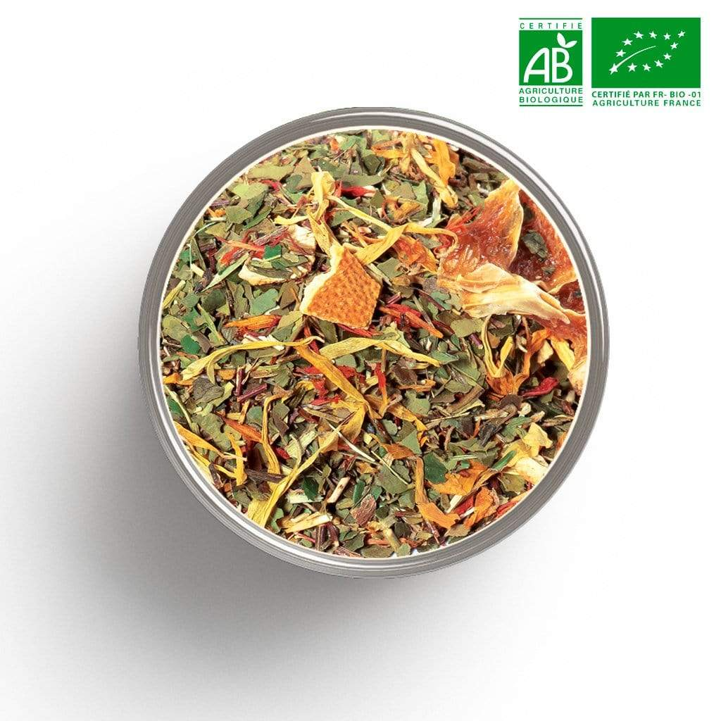Maté orange sanguine BIO en vrac