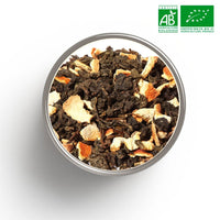 Thé Oolong aromatisé Orange BIO en vrac