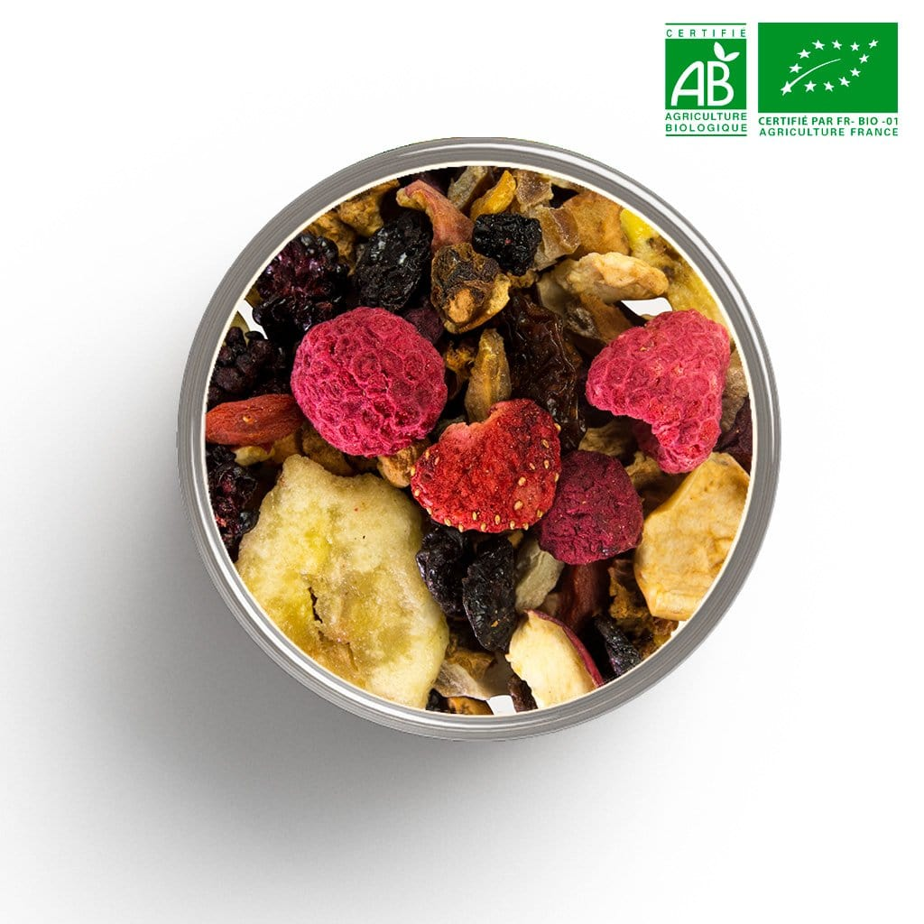 Infusion fruitée Funky Fruits BIO en vrac 1 Kg