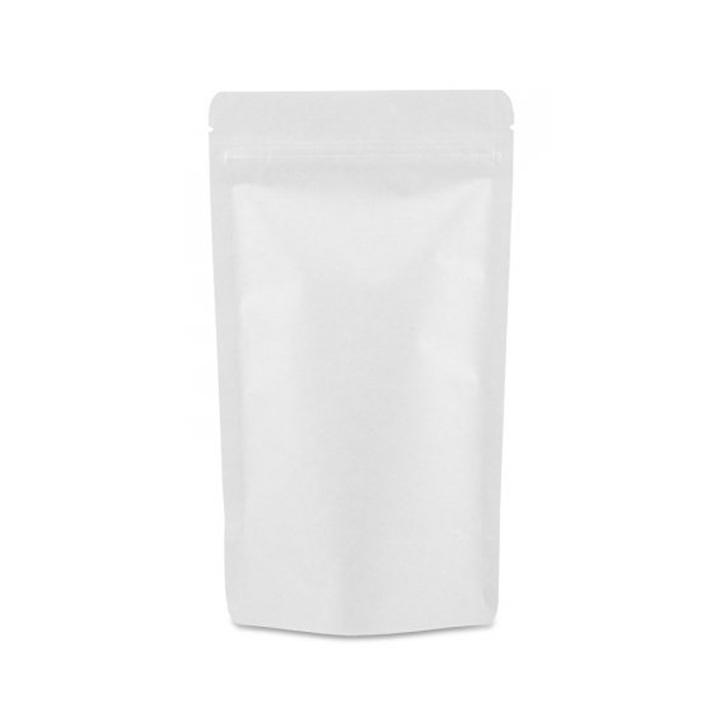 Doypacks Couleur Blanc Kraft L (250 g environ) Dimension 160 x 270 x 80 mm