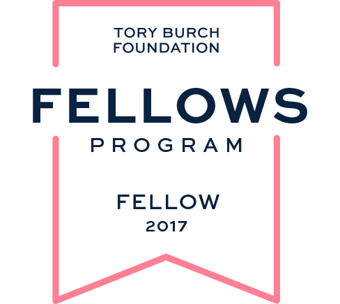 We're a 2017 Tory Burch Fellow!