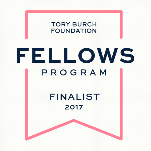 We're a Finalist in the Tory Burch Fellows Program!