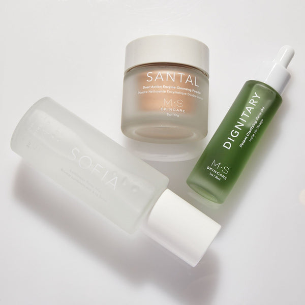REBALANCE TRIO | For Oily to Combination Skin Types - Mullein and Sparrow
