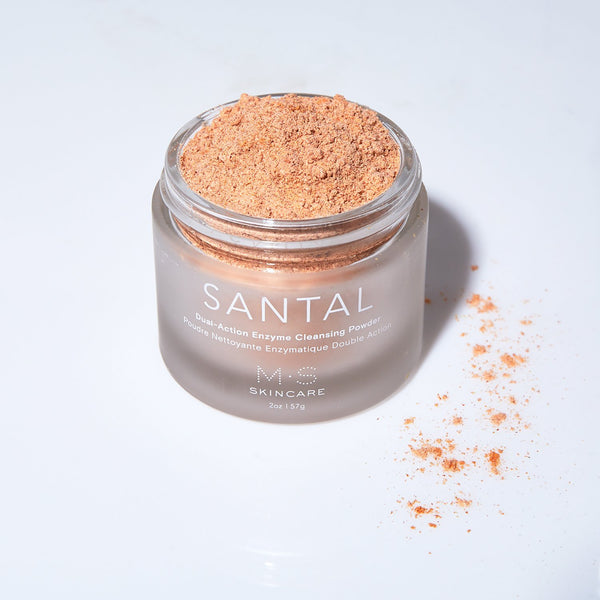 SANTAL | Dual-Action Brightening Cleansing Powder - M.S Skincare