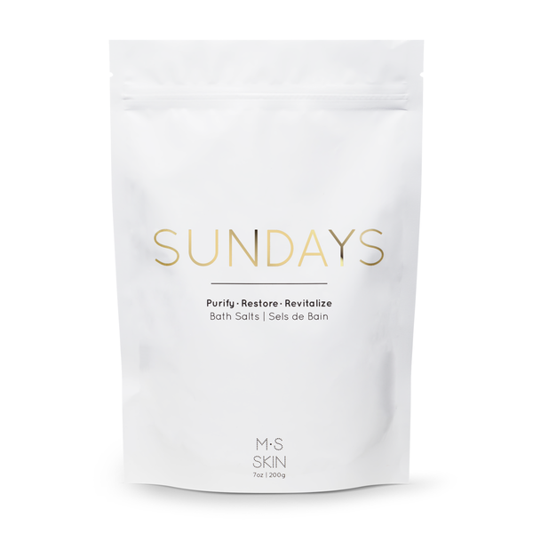 SUNDAYS | Detox Bath Salts - Mullein and Sparrow