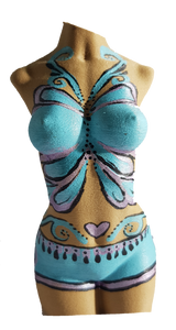 Butterfly Goddess (Female torso 12cm)