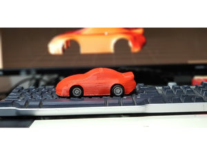 Tough Chasis that fits the Scalextric Porche 997 (Free shipping in Australia).