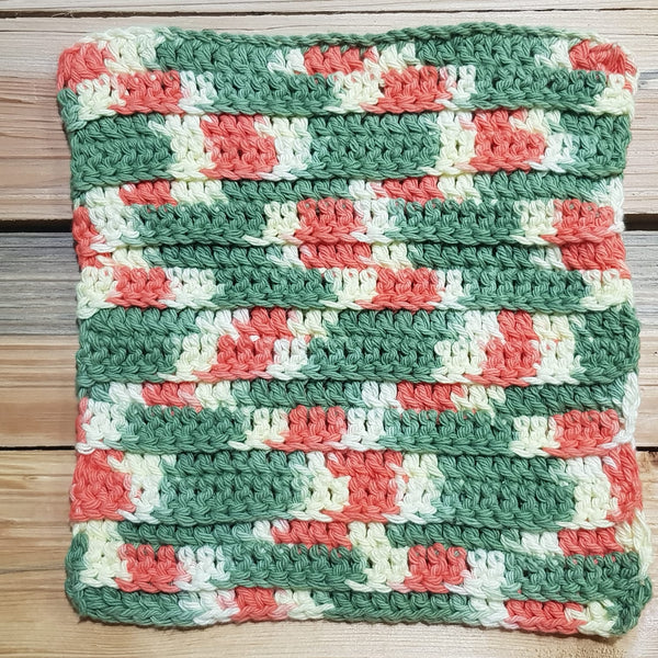 Cotton Washcloth/Scrubbie
