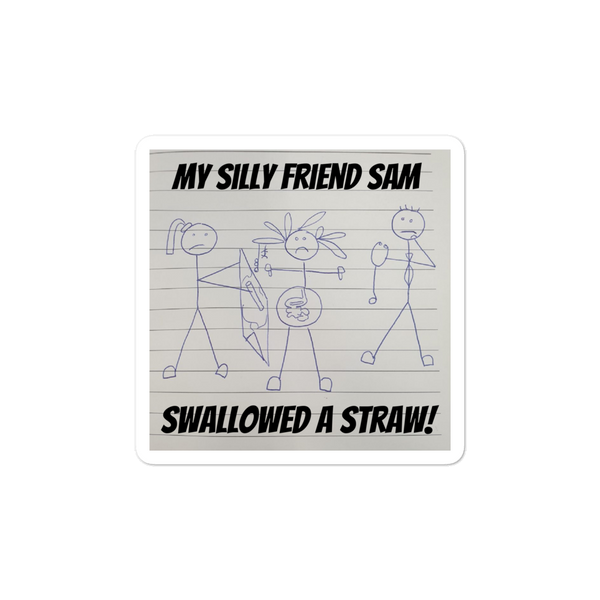 Silly Sam Stickers