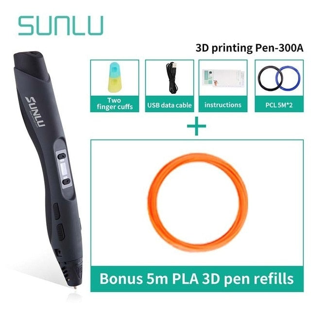 SL-300A 3D Printing Pen FREE SHIPPING from china 2-3 weeks.