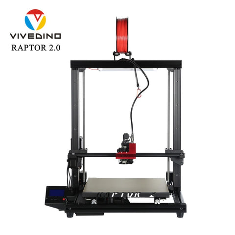 VIVEDINO Raptor 2.0 Industrial Grade Large Scale 3D Printer with 400*400*500mm Print Size
