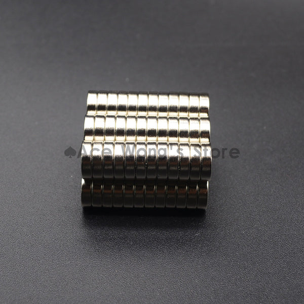 pack of 10 individual magnets 10x3mm with countersunk Bore 3mm