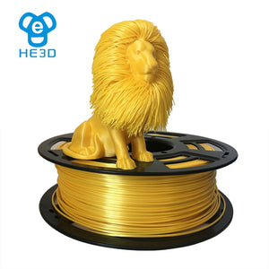 HE3D Beatiful metal color 1.75mm PLA 3D Printer Filament 1KG with FREE SHIPPING 29-49days.