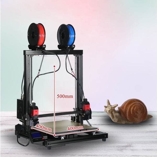 VIVEDINO T-Rex 3.0 Large Format Multi-function IDEX 3D Printer with 400x400x500mm Build Size $1799-$1949 USD