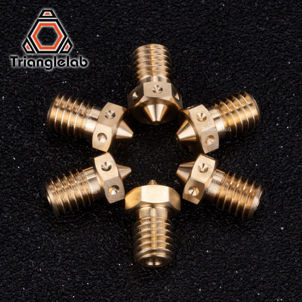 trianglelab 1PC Top quality V6  Nozzles for 3D printers hotend  3D printer nozzle for E3D Nozzles hotend titan extruder